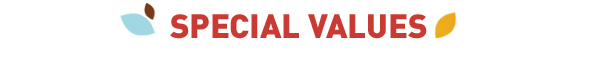 Special Values