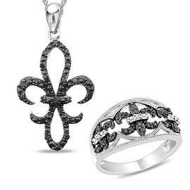 Black & White: Diamond Jewelry