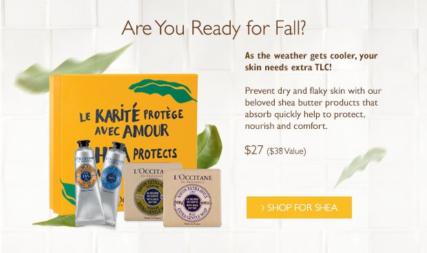 Fall Shea Collection $27 ($38 Value)