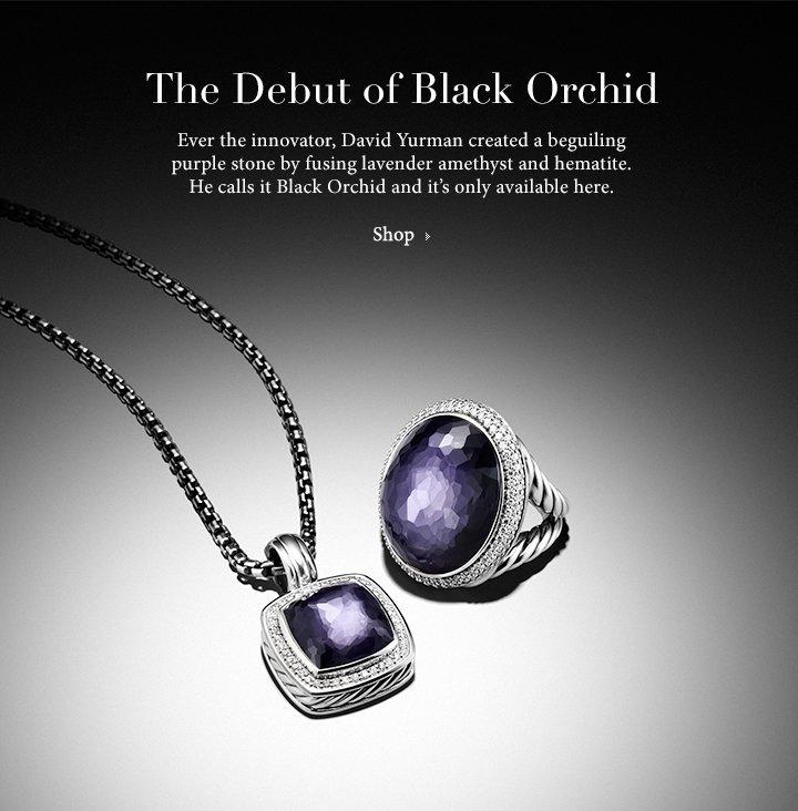 David Yurman Introducing Black Orchid Milled