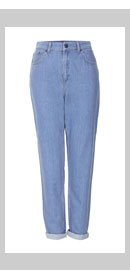 Internet Exclusive - Supersoft Bleach High Waisted Jeans