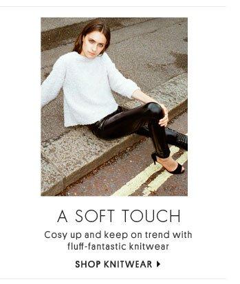A soft touch - Shop knitwear
