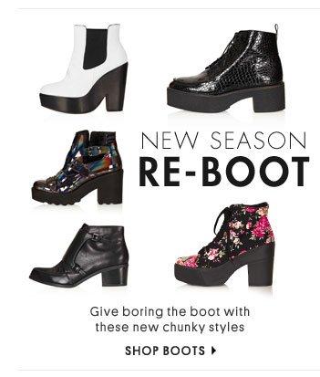 New season re-boot - Shop boots