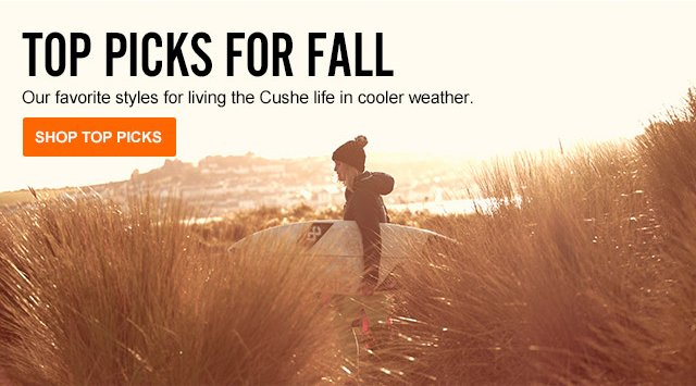 Top Picks for Fall--Our favorite styles for living the Cushe life in cooler weather.