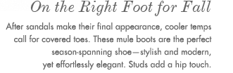 5. One The Right Foot for Fall