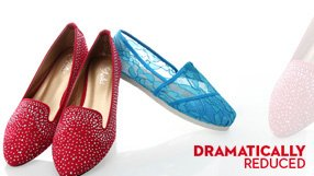Flats & Slip-Ons - Dramatic Price Reductions