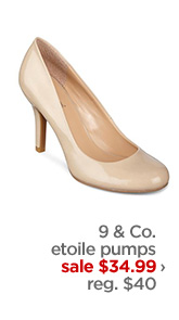 9 & Co. etoile pumps            sale $34.99 ›            reg. $40