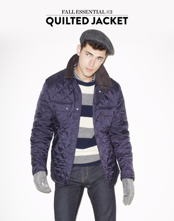 FALL ESSENTIAL #3 QUILTED JACKET