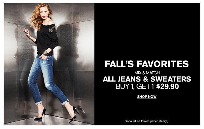 Shop Women's Jeans & Sweaters
