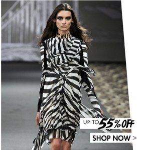 JUST CAVALLI UP TO 55% OFF