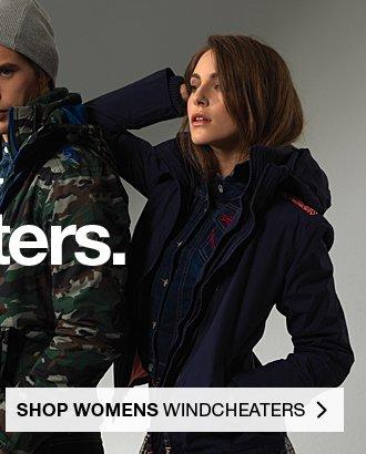 Womens Windcheaters