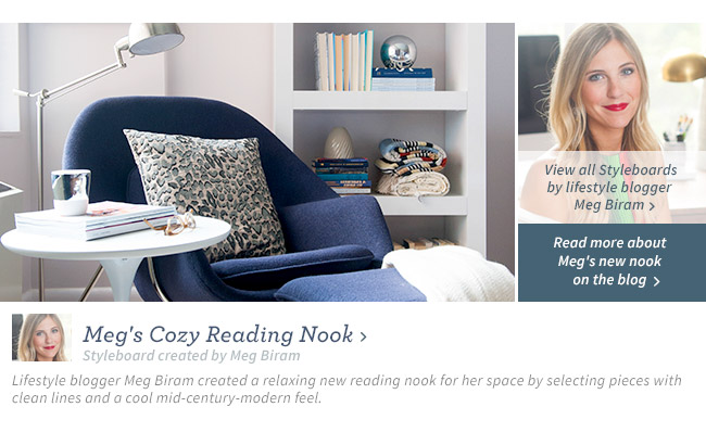 Meg's Cozy Reading Nook