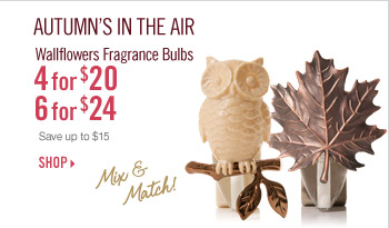 Wallflowers Fragrance Bulbs - 4 for $20