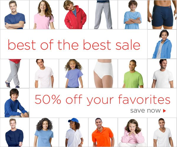 Best of the Best Sale: 50% off