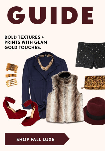 Fall Guide - Fall Luxe