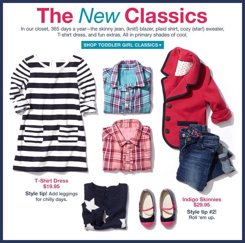 The New Classics   SHOP TODDLER GIRL CLASSICS