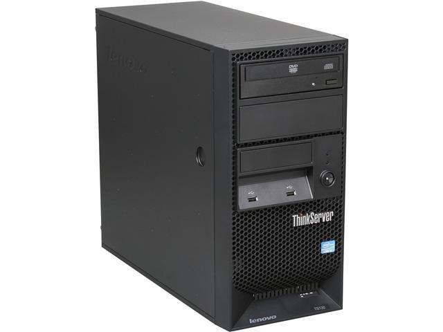 Lenovo ThinkServer TS130 Tower Server System Intel Core i3-3220 3.3GHz 2C/4T 4GB No Hard Drive 1105B2U