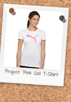 Project Pink Cat T-Shirt