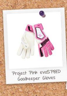 Project Pink evoSPEED 3.2 Goalkeeper Gloves