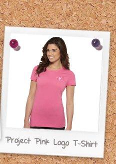 Project Pink Logo T-Shirt