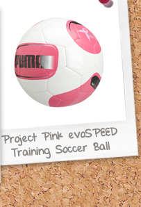 Project Pink evoSPEED 5.2 Training Soccer Ball