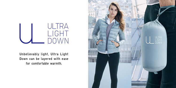 Image result for uniqlo ultra light down WOMAN