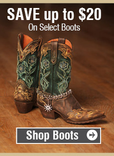 Save Up To $20 On Select Boots