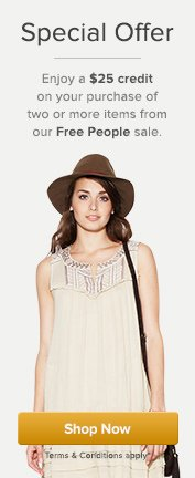 Free People Credit