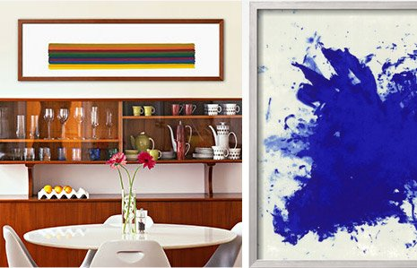 HORIZONTAL I, C.1962 By: Morris Louis, HOMMAGE A TENNESSEE WILLIAMS By: Yves Klein