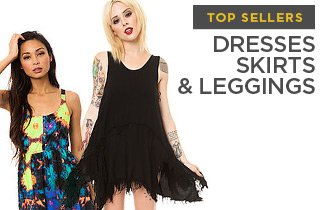 Top Selling Dresses, Skirts, & Leggings