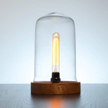 Ujala Dome Lamp w/ Long Edison Bulb