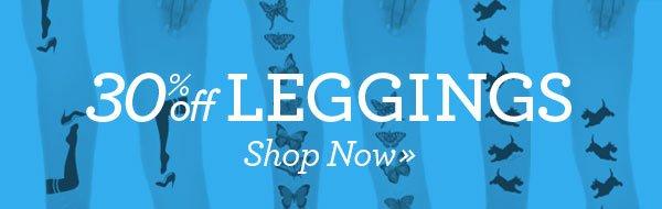 30% off Leggings! Shop Now»
