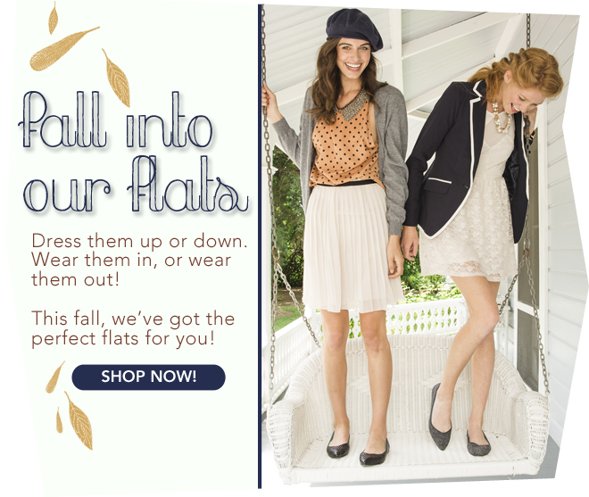 Fall For Our Flats!