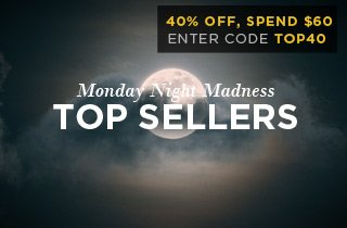 Click to get an extra 40% Off Top Sellers