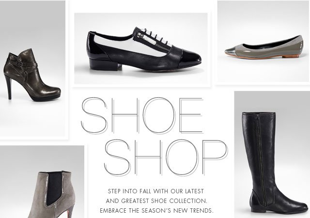 Shoe Shop | Step into fall with our latest and greatest shoe collection. Embrace the season's new trends.