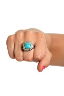 FANCY STONE RING 15