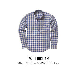 Blue, Yellow & White Tartan Shirt