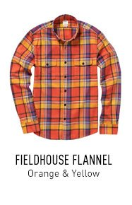 Orange & Yellow Flannel
