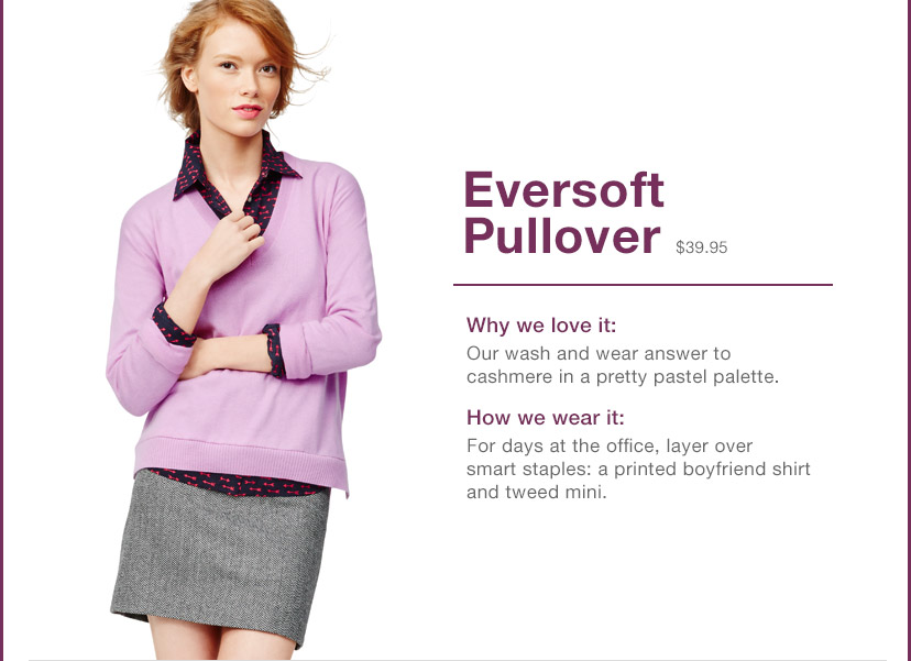 Eversoft Pullover