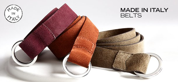 MADE IN ITALY: BELTS, Event Ends September 28, 9:00 AM PT >