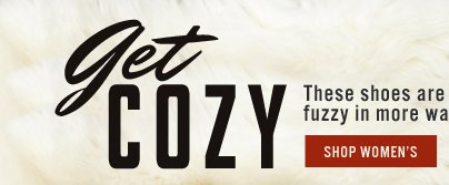 Get Cozy - Shop Women's Cozy Styles