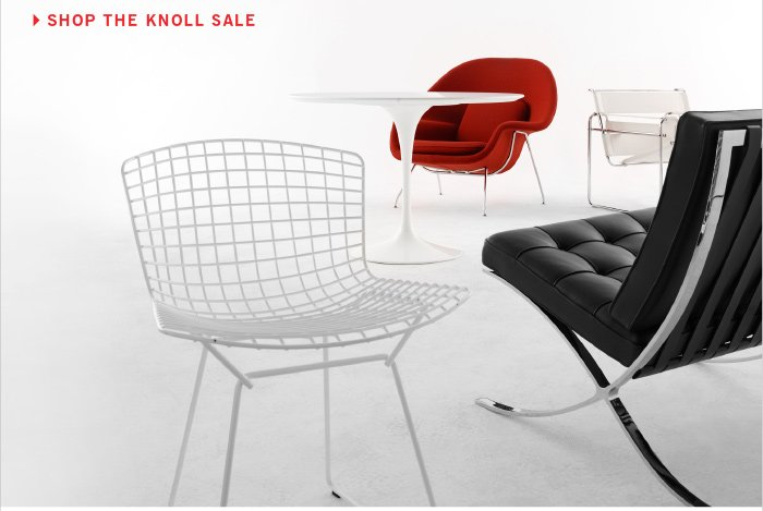 SHOP THE KNOLL SALE