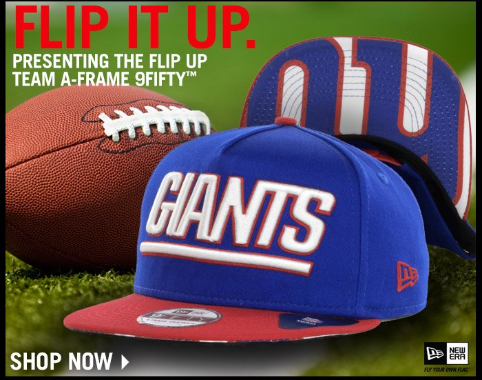 New Arrival ? Flip Up Team A-Frame 9FIFTY ? Shop Now!