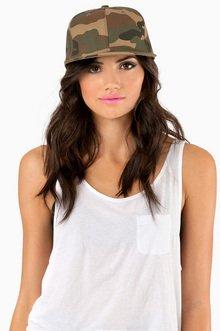 CAMO SNAPBACK HAT 14