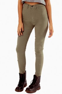 SOLIDLY HIGH WAISTED JEANS 47