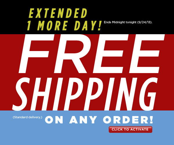 Today Only, FREE Shipping