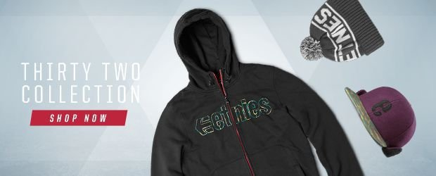 etnies ThirtyTwo Apparel collection