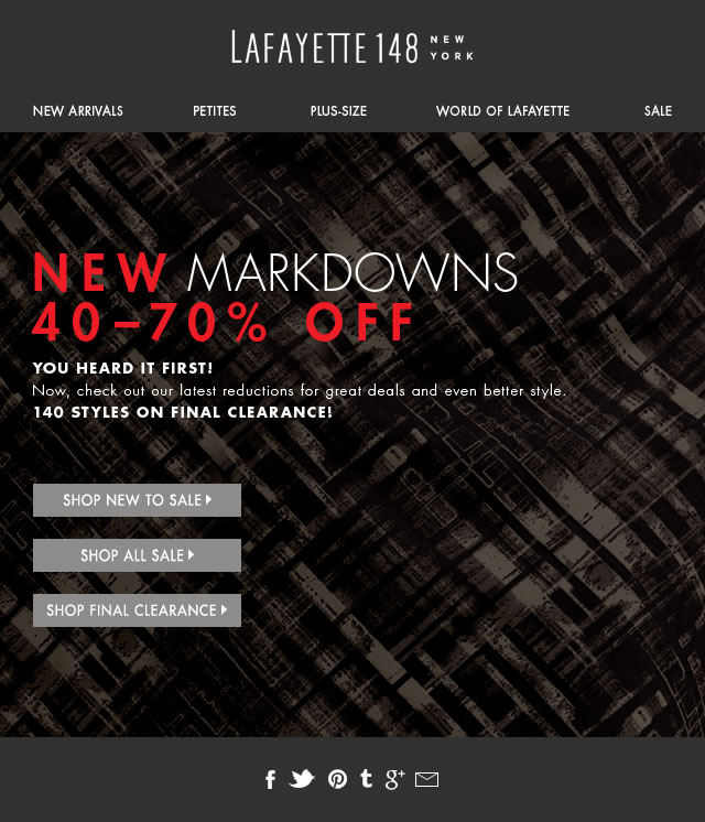 NEW Markdowns!Shop Now!