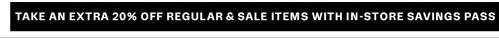In-store savings pass