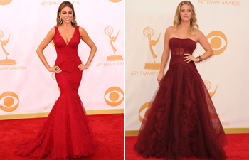 Vera Wang Emmy Awards 2013